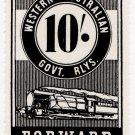 (I.B) Australia - Western Australia Railways : Parcel 10/-