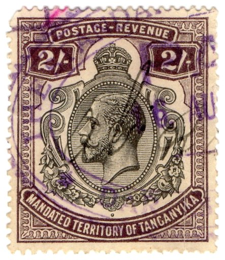 (I.B) KUT Revenue : Tanganyika Duty 2/-