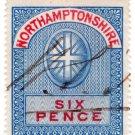 (I.B) Northamptonshire Revenue : Court Fee 6d