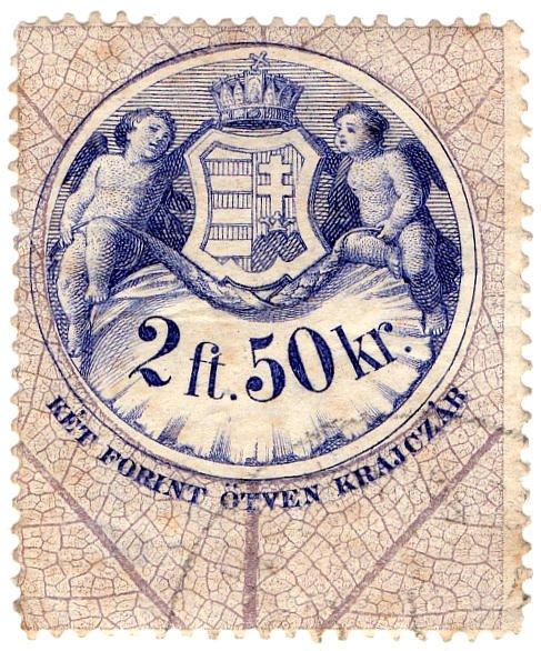 (I.B) Austria/Hungary Revenue : Stempelmarke 20 ft 50 kr