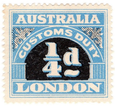 (I.B) Australia Revenue : Customs Duty ¼d