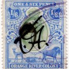 (I.B) Orange River Colony Revenue : Duty 1/6d