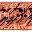 (I.B) Orange Free State Revenue : Duty £2 (VRI)