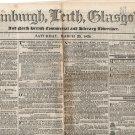 (I.B) George IV Revenue : Newspaper Duty 2d (Edinburgh 1828 - complete)