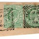 (I.B) Edward VII Postal : Postmark Collection (Heywood)
