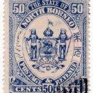 (I.B) British North Borneo Postal : State 50c