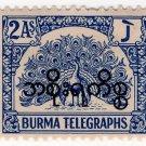 (I.B) Burma Telegraphs : 2a (Official)