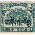 (I.B) Burma Telegraphs : 10R (Official)