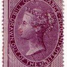 (I.B) QV Revenue : Foreign Bill 4/- (1857)