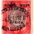 (I.B) South-West Africa Revenue : Duty 6d