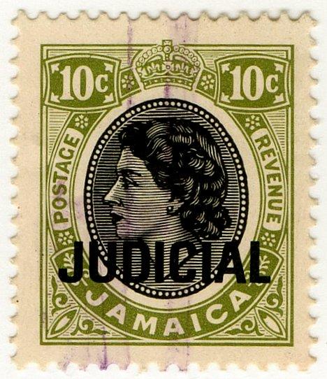 (I.B) Jamaica Revenue : Judicial 10c
