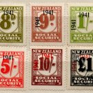 (I.B) New Zealand Revenue : Social Security Collection (1941)