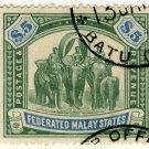 (I.B) Federated Malaya States Revenue : Duty $5