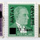 (I.B) Turkey Postal : Hatay Devleti Overprint Collection