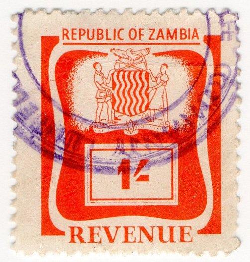 (I.B) Zambia Revenue : Duty 1/-