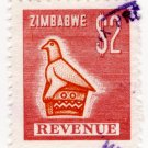(I.B) Zimbabwe Revenue : Duty Stamp $2