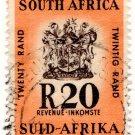 (I.B) South Africa Revenue : Duty Stamp R20