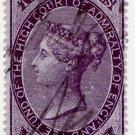 (I.B) QV Revenue : Admiralty Court 2/6d (1858)
