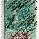 (I.B) QV Revenue : Law Courts (Scotland) 1/-