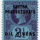 (I.B) Niger Coast Postal : Oil Rivers 2½d OP