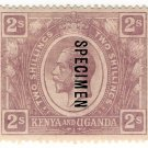 (I.B) KUT Postal : Kenya & Uganda 2/-