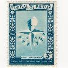 (I.B) Festival Of Britain 1951 : Emblem 3d
