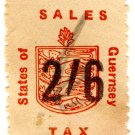 (I.B) Guernsey Revenue : Sales Tax 2/6d (German Occupation)