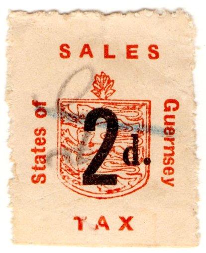 (I.B) Guernsey Revenue : Sales Tax 2d (German Occupation)