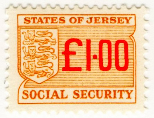 (I.B) Jersey Revenue : Social Security £1.00