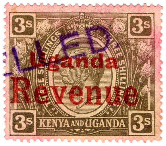 (I.B) KUT Revenue : Uganda Duty 3/-