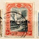(I.B) British Guiana Postal : 2c Overprints