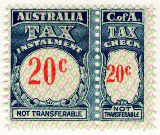 (I.B) Australia Revenue : Tax Instalment 20c