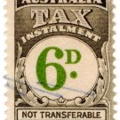 (I.B) Australia Revenue : Tax Instalment 6d