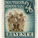(I.B) Southern Rhodesia Revenue : Duty Stamp 2/6d