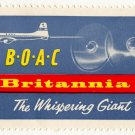 "(I.B) Cinderella : BOAC Brittania ""The Whispering Giant"""