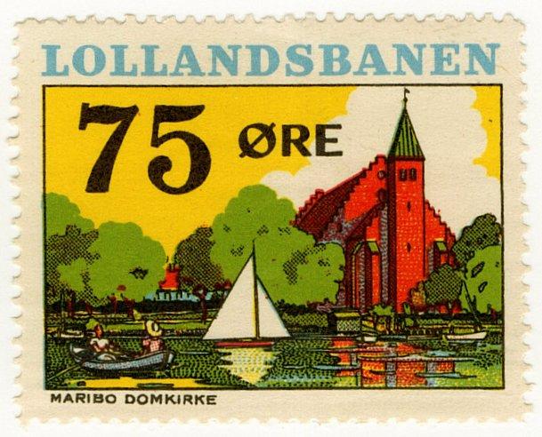 (I.B) Denmark Railway : Lollandesbanen 75 �re