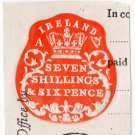 (I.B) QV Revenue : Ireland Impressed Duty 7/6d