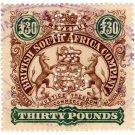 (I.B) Rhodesia/BSAC Revenue : Duty £30