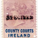 (I.B) QV Revenue : County Courts Ireland 2d (inverted watermark)