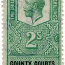 (I.B) George V Revenue : County Courts (Northern Ireland) 2/-