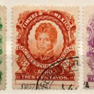 (I.B) Mexico Revenue : Duty Stamp Collection (1880)