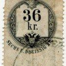 (I.B) Austria/Hungary Revenue : Stempelmarke 36 Kr