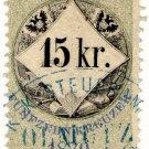 (I.B) Austria/Hungary Revenue : Stempelmarke 15 Kr
