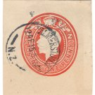 (I.B) New Zealand Postal : Embossed Die 1d (Palmerston North)