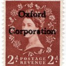 (I.B) Elizabeth II Commercial Overprint : Oxford Corporation