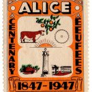 (I.B) South Africa Cinderella : Alice Centenary 1947