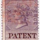 (I.B) QV Revenue : Patent Office 6d (inverted watermark)