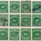 (I.B) US Revenue : Wines Collection (1913 issue)