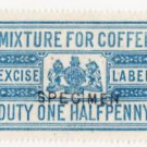 (I.B) QV Revenue : Coffee Duty ½d