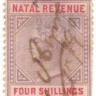 (I.B) Natal Revenue : Duty Stamp 4/-